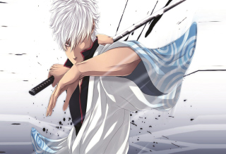 Free Sakata Gintoki - Yorozuya Gin-Chan Picture for Android, iPhone and iPad