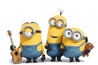 Minions Dancing Background for Android, iPhone and iPad