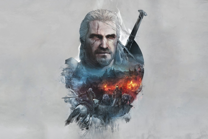 Geralt of Rivia Witcher 3 wallpaper