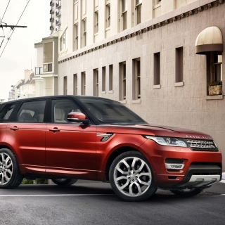 4x4 Range Rover Sport Background for iPad