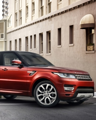 4x4 Range Rover Sport Wallpaper for Nokia Asha 308