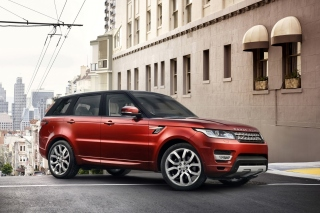 Free 4x4 Range Rover Sport Picture for Android, iPhone and iPad