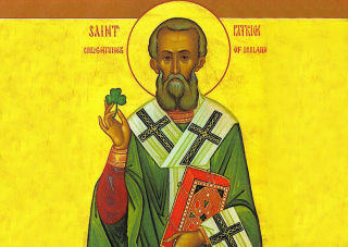 Saint Patrick Shamrock Wallpaper for Android, iPhone and iPad