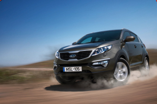 Kia Sportage Drive Wallpaper for Android, iPhone and iPad