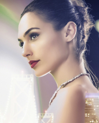 Gal Gadot Fan Art Background for Nokia Asha 306