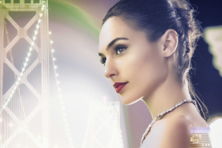 Gal Gadot Fan Art Background for Android, iPhone and iPad