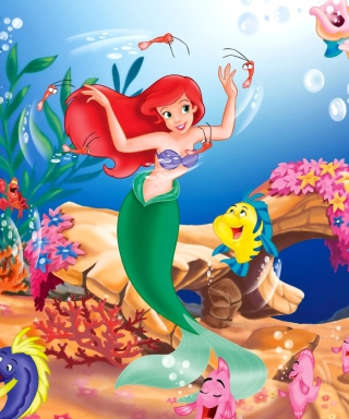 Little Mermaid Wallpaper for iPhone 6 Plus