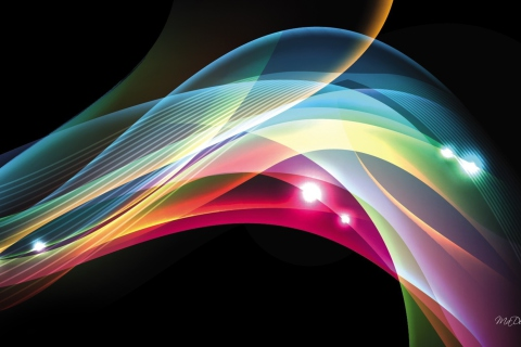 Abstract Shine para LG E400 Optimus L3
