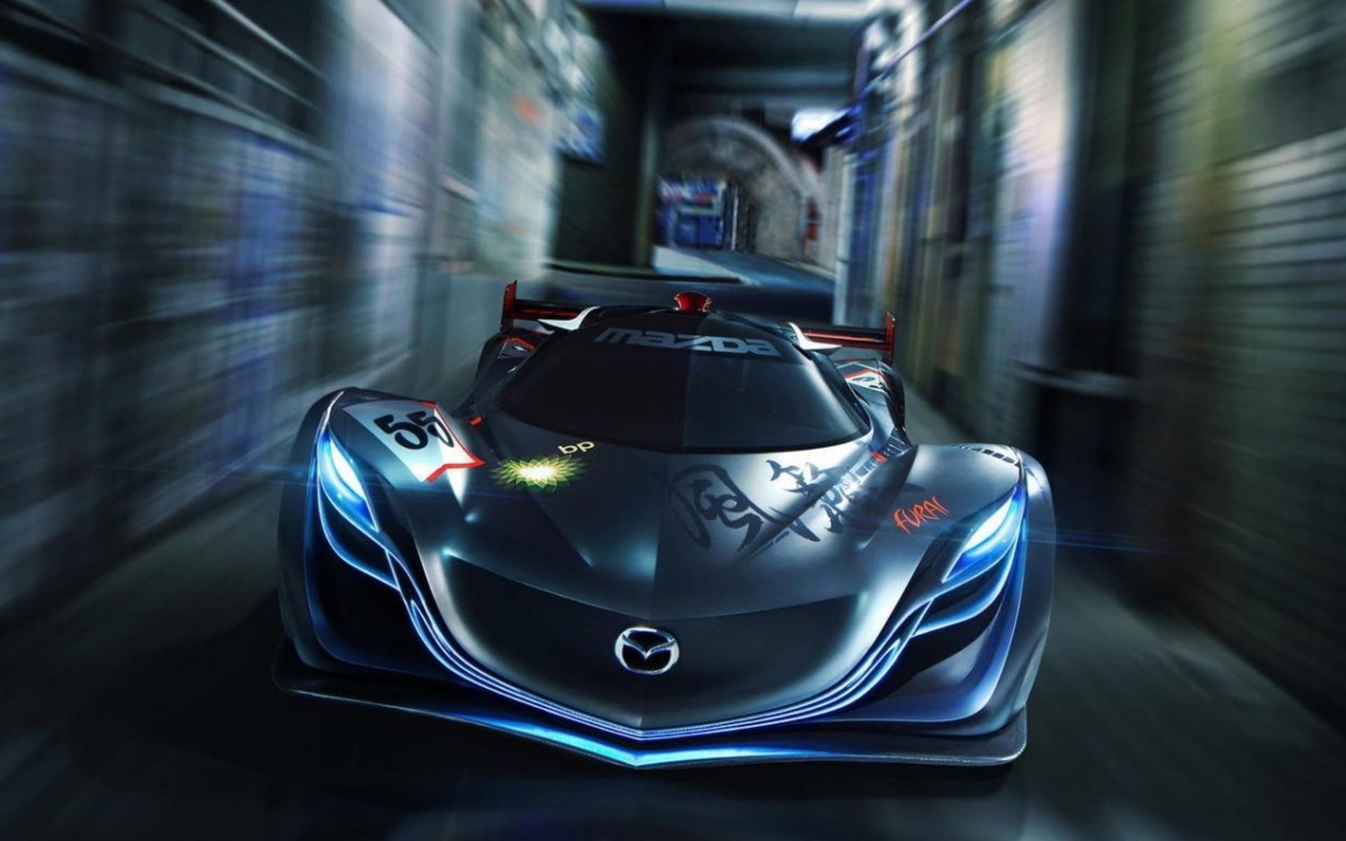 Mazda3 роботы город загрузить