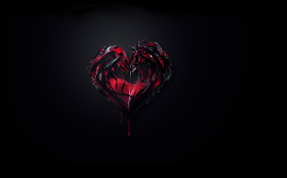 Bleeding Heart Background for Android, iPhone and iPad