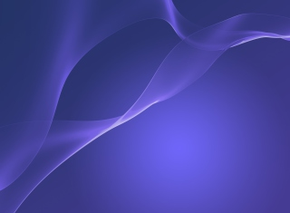 Free Dark Blue Xperia Z2 Picture for Android, iPhone and iPad