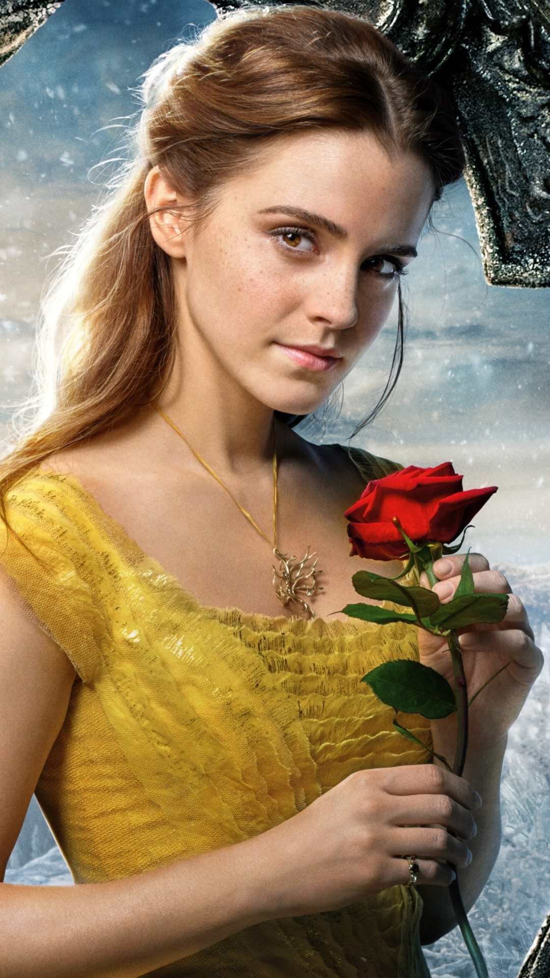 Screenshot №1 pro téma Beauty and the Beast Emma Watson 1080x1920