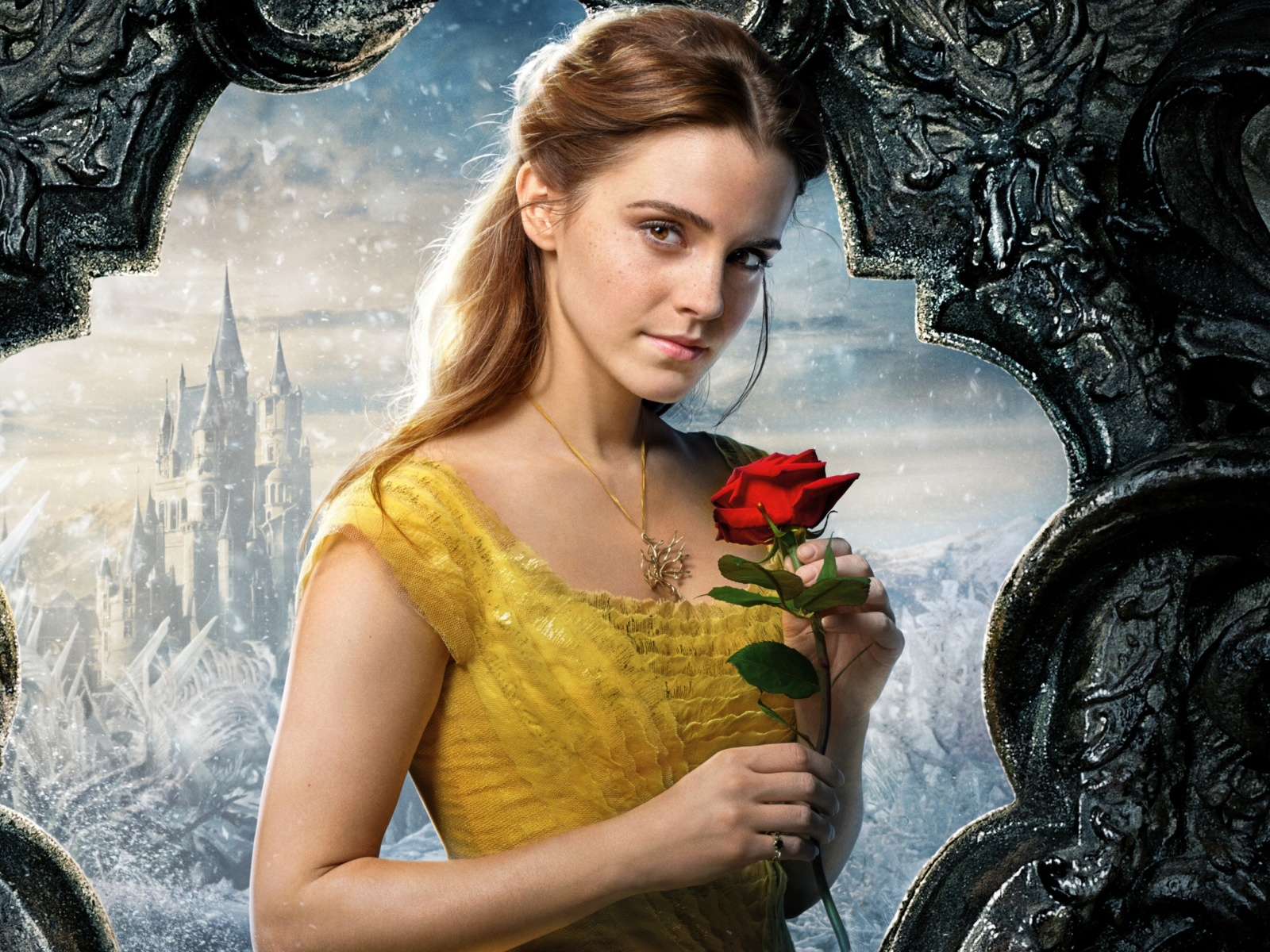 Screenshot №1 pro téma Beauty and the Beast Emma Watson 1600x1200