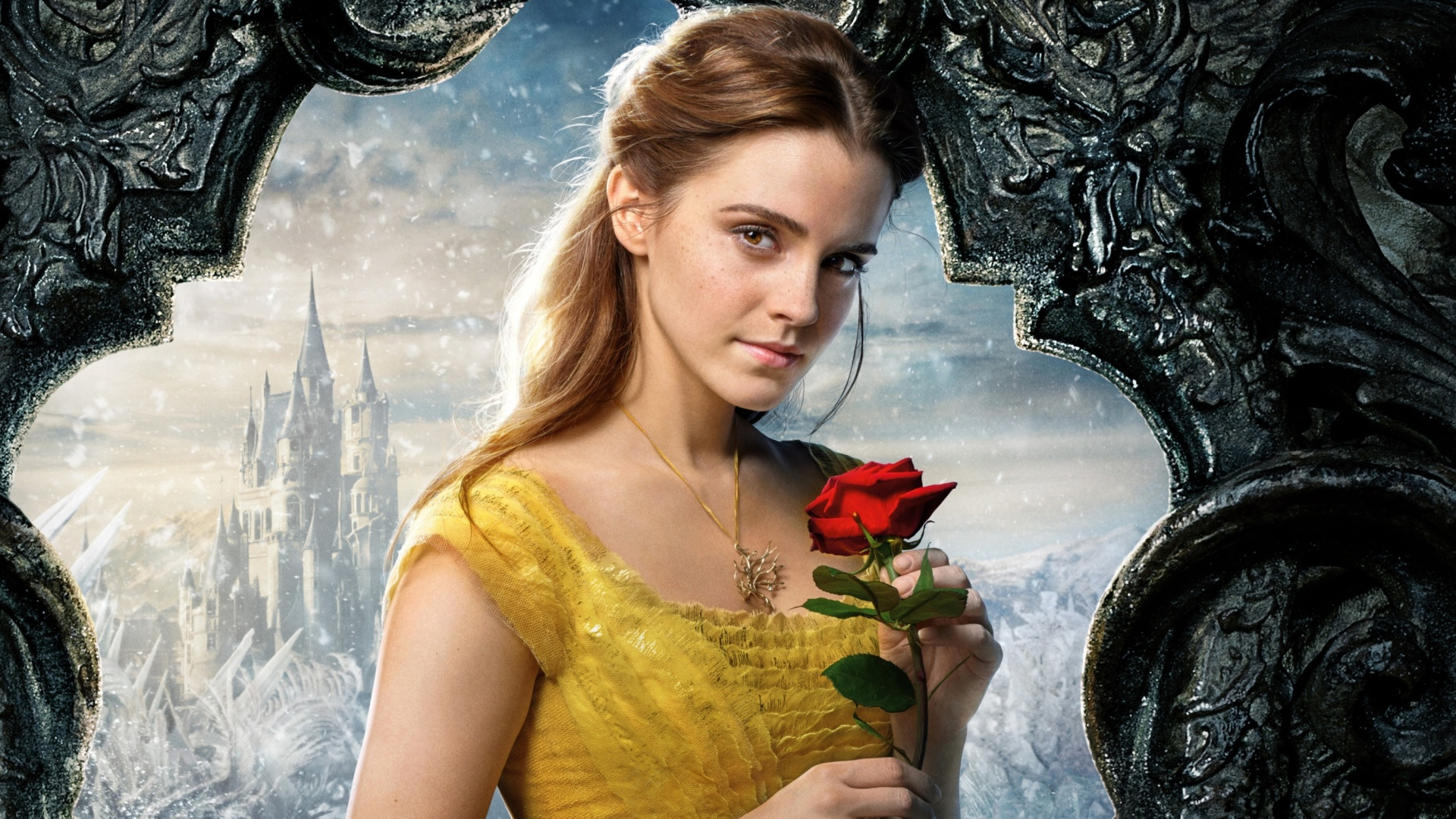 Screenshot №1 pro téma Beauty and the Beast Emma Watson 1920x1080
