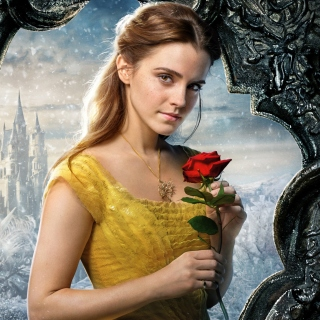 Beauty and the Beast Emma Watson - Obrázkek zdarma pro iPad mini 2