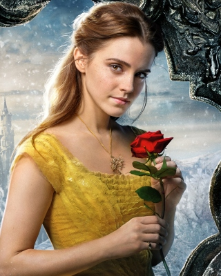 Beauty and the Beast Emma Watson - Obrázkek zdarma pro iPhone 4S