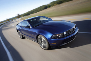 Blue Mustang V8 sfondi gratuiti per cellulari Android, iPhone, iPad e desktop