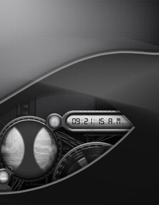 Free Digital Clock Picture for HTC Titan