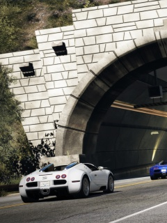 Screenshot №1 pro téma Need for Speed Hot Pursuit 240x320