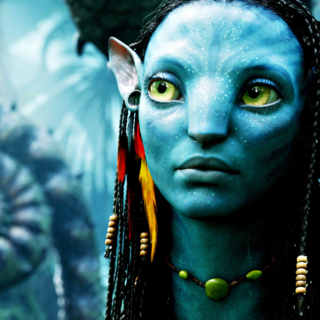 Avatar Neytiri wallpaper 1024x1024