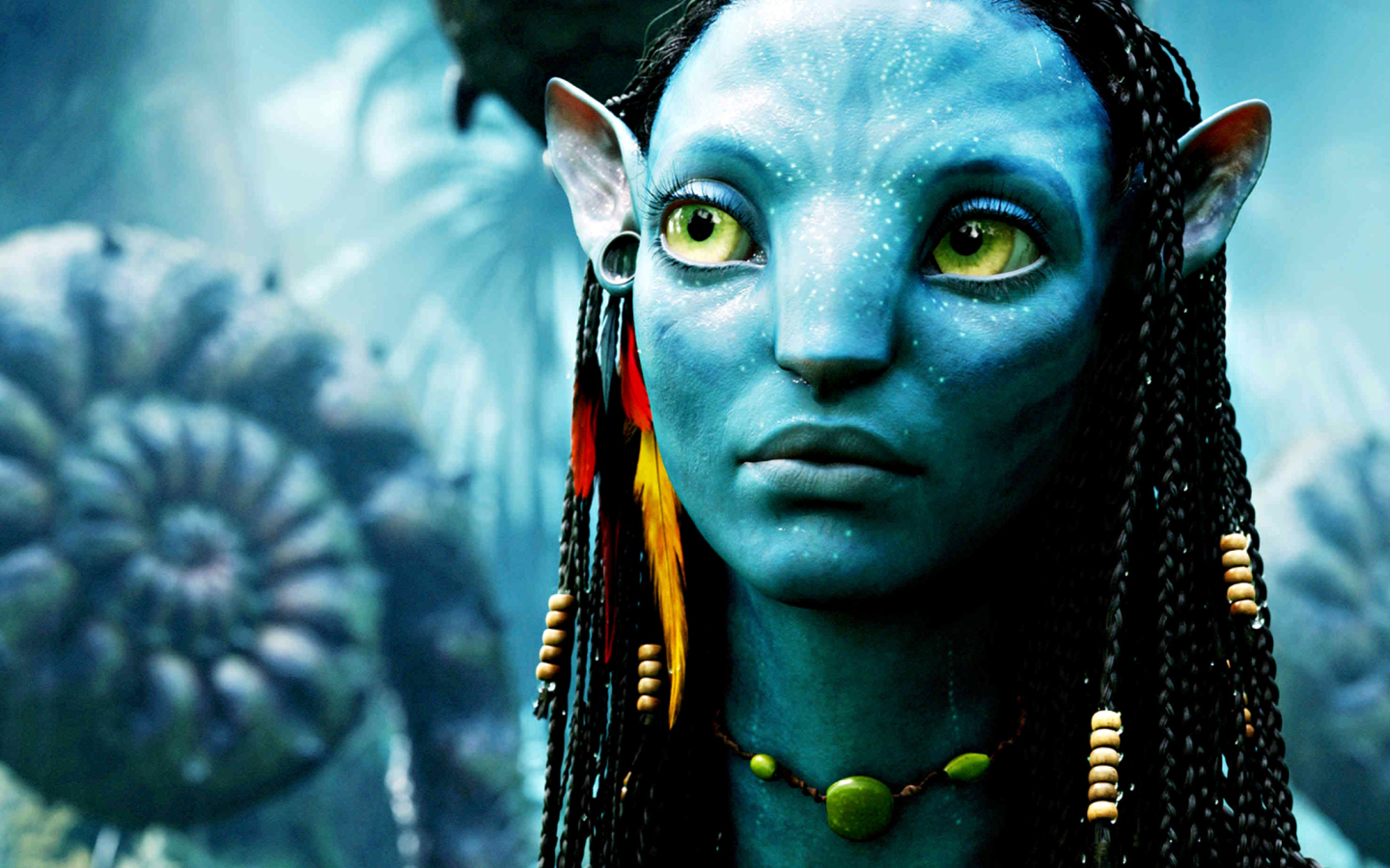 Avatar Neytiri wallpaper 1440x900