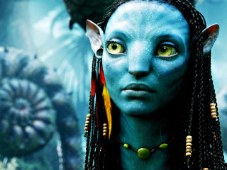 Avatar Neytiri wallpaper 320x240