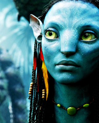 Avatar Neytiri papel de parede para celular para iPhone 6 Plus