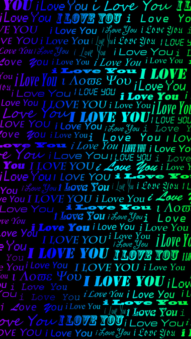 Screenshot №1 pro téma I Love You 640x1136
