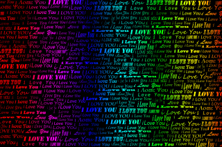 Kostenloses I Love You Wallpaper für Samsung Galaxy S4