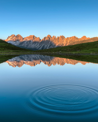 Achen Lake in Tyrol Picture for 240x320