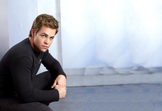 Chris Pine Wallpaper for Android, iPhone and iPad