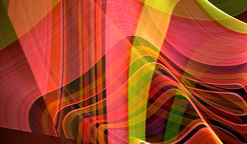 Screenshot №1 pro téma Colorful Rays 1024x600