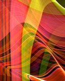 Screenshot №1 pro téma Colorful Rays 128x160
