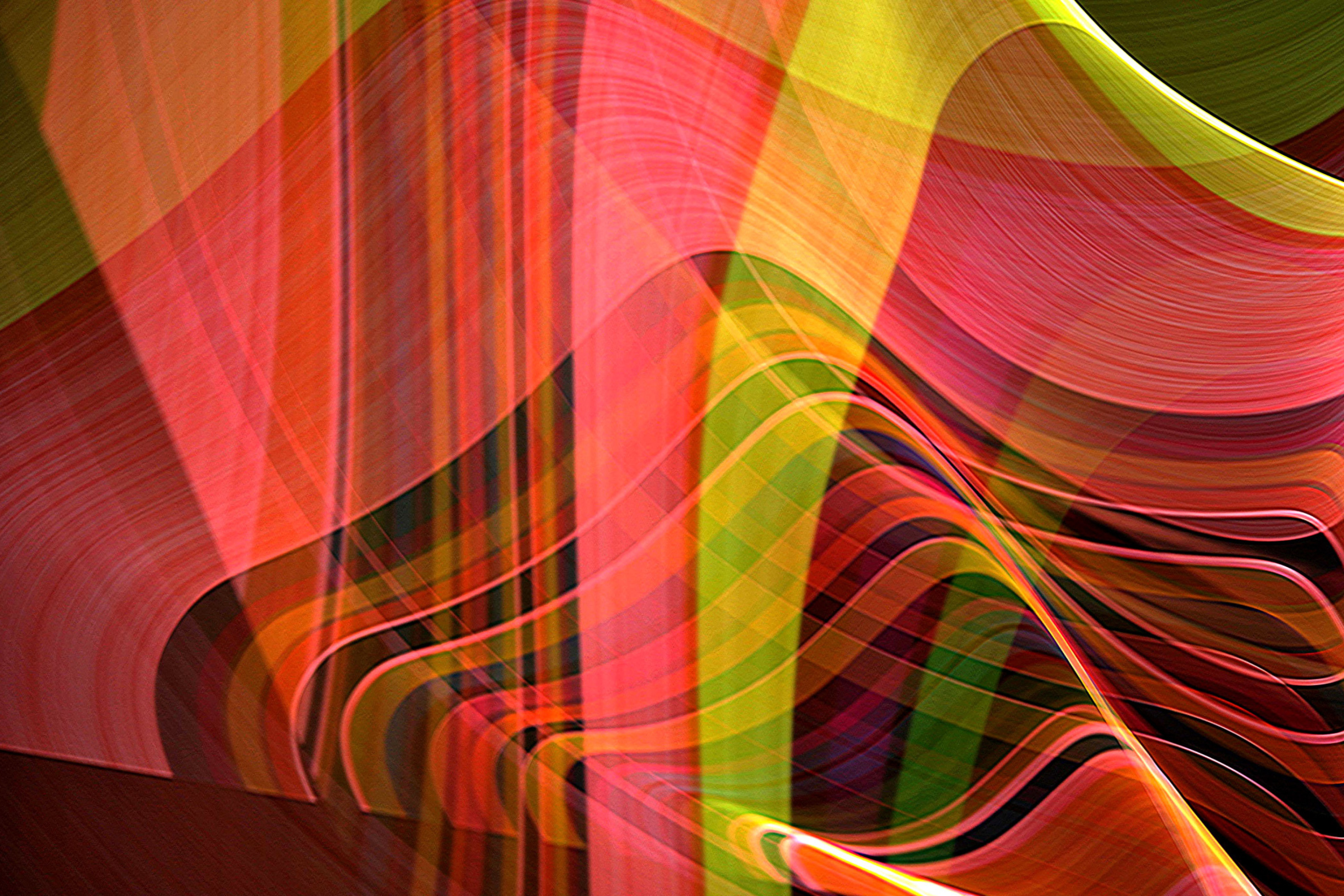 Screenshot №1 pro téma Colorful Rays 2880x1920
