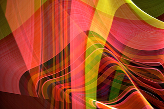 Free Colorful Rays Picture for Nokia C3