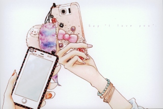 Hand Drawn iPhone - Fondos de pantalla gratis