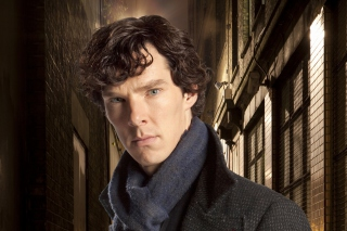 Free Sherlock TV series - Benedict Cumberbatch Picture for Android, iPhone and iPad