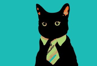 Cat Boss Picture for Android, iPhone and iPad