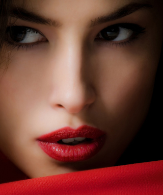 Red Lips Wallpaper for HTC Titan