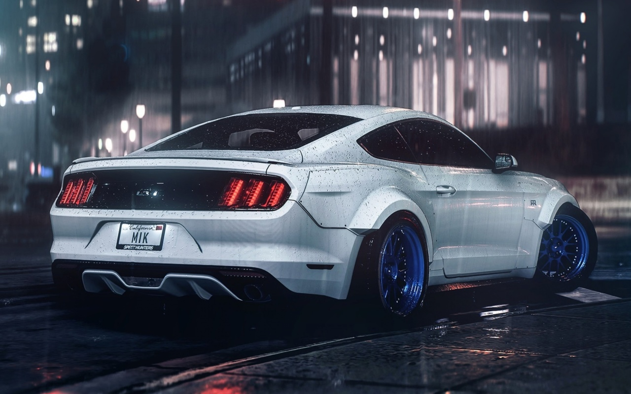 Screenshot №1 pro téma Ford Mustang Shelby GT350 1280x800
