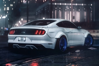 Ford Mustang Shelby GT350 Background for Android, iPhone and iPad