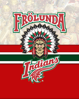 Frolunda Indians Team HC papel de parede para celular para iPhone 6