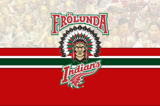 Frolunda Indians Team HC Background for Samsung Galaxy Ace 4