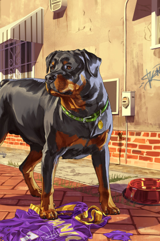 Grand Theft Auto V Dog para Huawei G7300