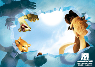 Kostenloses Ice Age: The Meltdown Wallpaper für Samsung Galaxy Ace 3