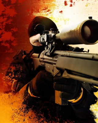 Counter Strike Swat Counter Terrorism Group Background for iPhone 7 Plus