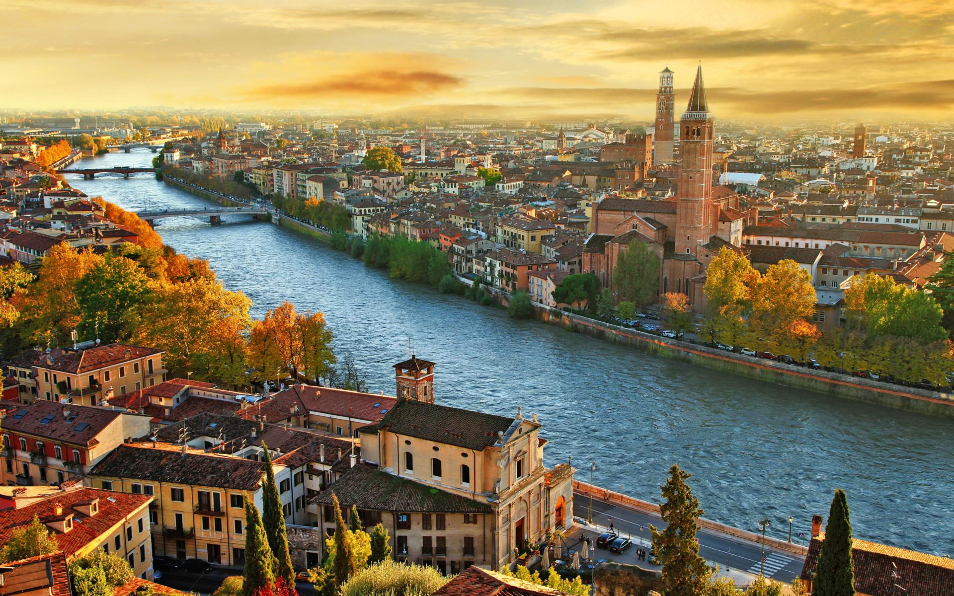 Italy City para Widescreen Desktop PC 1920x1080 Full HD