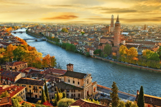 Italy City Background for Android, iPhone and iPad