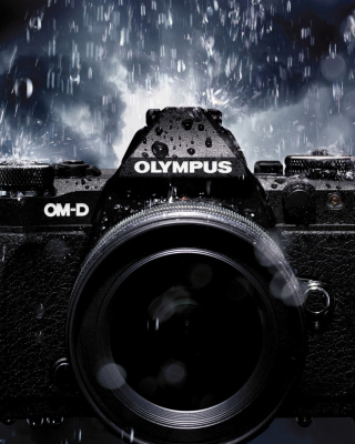 Olympus Om D Wallpaper for 240x320
