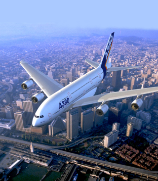 Free Airbus A380 Picture for HTC Titan